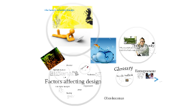 Factors Affecting Design CLE C