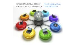 INFLUENCIA DE LAS REDES SOCIALES EN EL APRENDIZAJE