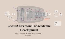 110YW Academic & Refelctive Skills