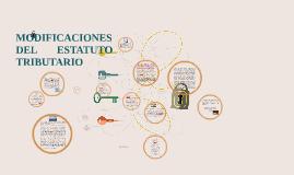 Copy of MODIFICACIONES AL ESTATUTO ADUANERO