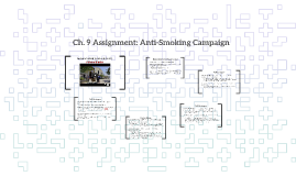 Ch. 9 Assignment: Anti-Smoking