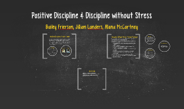 Positive Discipline & Discipline without Stress