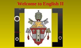 English II Classroom Policies and Procedures