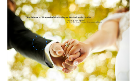 The Effects of Nonverbal Behavior on Marital Satisfaction