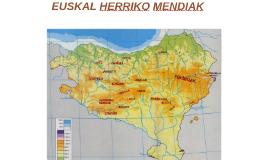 EUSKAL HERRIKO MENDIAK