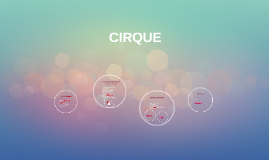 Copy of CIRQUE
