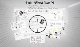 Unit 1 WWII