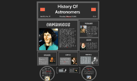 History Of Astronomers