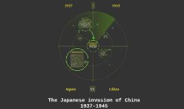 The Japanese invasion of China