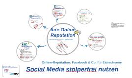 Online-Reputation: Facebook & Co. für Erwachsene