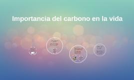 Importancia del carbono en la vida