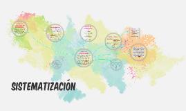 Copy of Sistematización