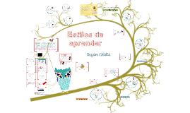 Máster 2016 -Estilos de Aprendizaje-TEORÍA CHAEA