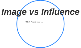 Image vs Influence