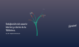 Satisfacción del Usuario Interno y Externo de la Biblioteca. - Alejandro Jiménez L.