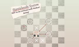 Copy of Stanislavski's Techniques