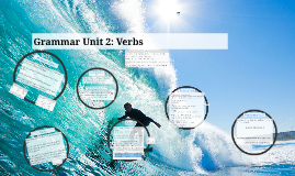 Frosh Grammar Unit 2: Verbs
