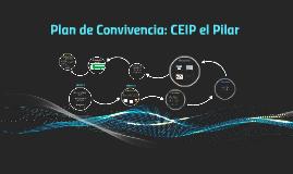 Plan de Convivencia: CEIP el Pilar