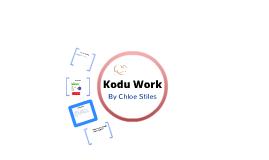 Kodu Year 8