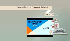 Copy of Matemática e a Educação Ifantil na APPR