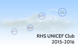 RHS UNICEF Club 2015-2016