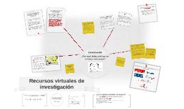 Recursos virtuales de investigación