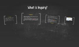 Inquiry Topics