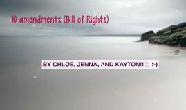 10 amendments