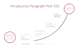 Introductory Paragraph Peer Edit
