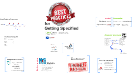Best Practices for Getting Specified