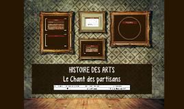 [3E] Histoire des Arts : Le Chant des partisans