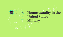 Homosexuality in the United States Military