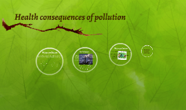 Health consequences of pollution