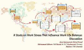 a study on work life balance