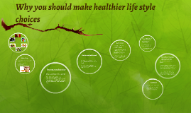 Why you should make healthier life style choices
