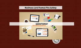 Web Business and Home Fire Safety