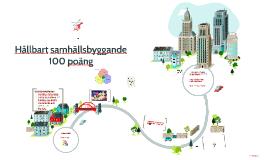 Hållbart samhällsbyggande 100 poäng