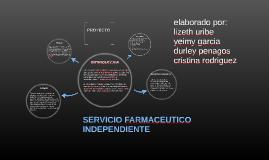 SERVICIO FARMACEUTICO INDEPENDIENTE