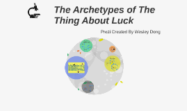 The Archetypes of The Thing About Luck