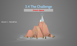 3.4 The Challenge