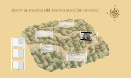 Slavery in America: Did America Stand for Freedom?