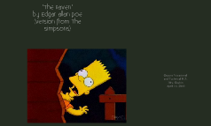 """""""The Raven"""" from the Simpsons"""