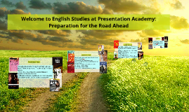 Welcome to English Studies at Presentation Academy: