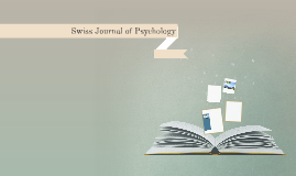 Swiss Journal of Psychology