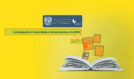 La investigación en Humanidades y Ciencias Sociales en la UN