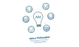 Abitur Philosophie LK