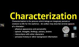 Characterization (CR)