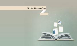 Textos Persuacivos
