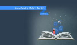 Understanding Modern Essayists