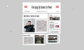 Kim-Jong Un Comes to Power